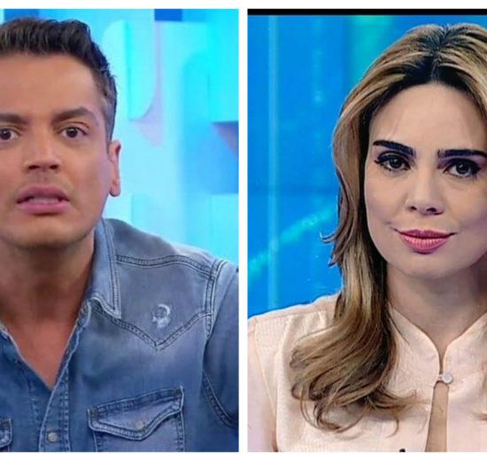 Leo Dias recebeu o apoio da jornalista Rachel Sheherazade (Foto: Divulgação)