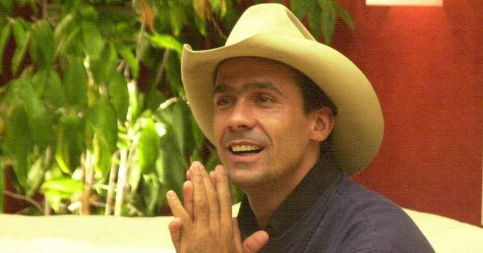 """Rodrigo Leonel, o cowboy, perdeu toda a sua fortuna conquistada no """"BBB 2"""", da Globo (Foto: Divulgação/TV Globo)"""
