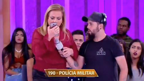 """Christina Rocha no """"Casos de Família"""", do SBT (Foto: Reprodução/Twitter)"""