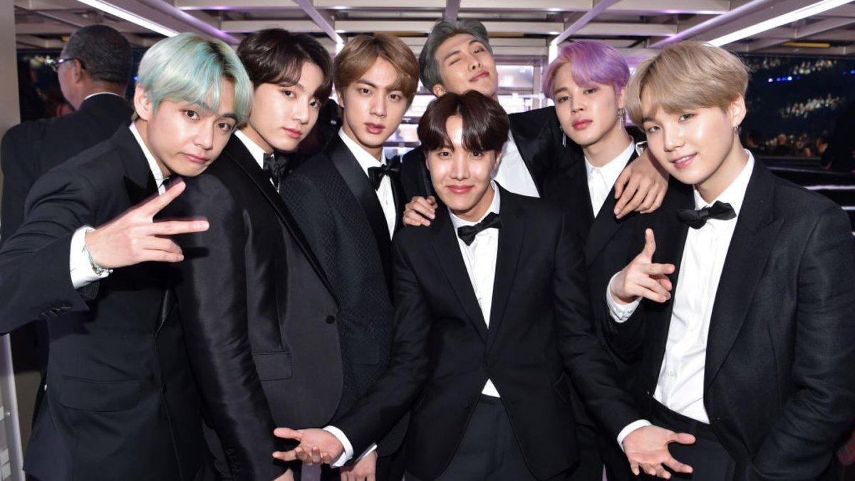Grupo BTS (Foto: Reprodução)
