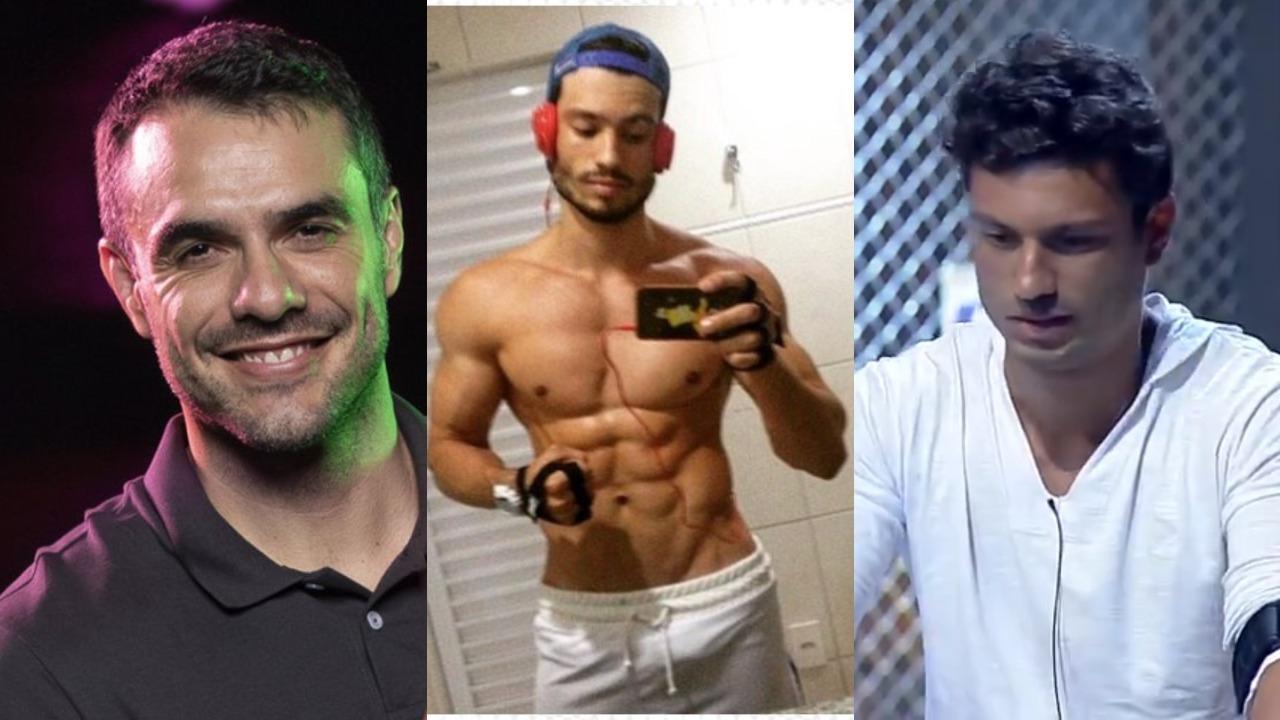 """Daniel Saullo e Maikel Castro participaram do """"Power Couple Brasil 4"""", da Record (Foto: Divulgação/Record/Montagem TV Foco)"""