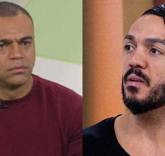 Denilson e Belo (Foto: Divulgação/Montagem TV Foco)