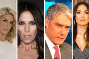 Brigas entre apresentadores que você não fazia ideia: Adriane Galisteu e Ana Hickmann,Geraldo Luiz e Rodrigo Faro, William Bonner e Patrícia Poeta