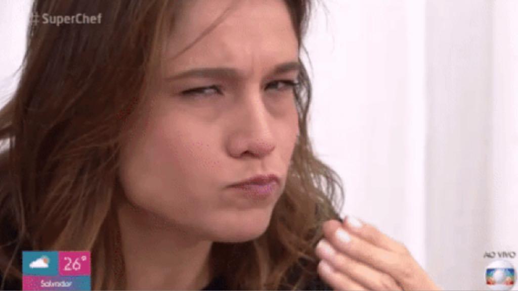 Fernanda Gentil participa como jurada do Super Chef, no programa de Ana Maria Braga na Globo (Imagem: Reprodução)