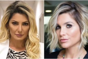 A atriz da Globo, Flávia Alessandra mostrou que não está nenhum pouco abalada pela vitória de sua rival, Antonia Fontenelle (Foto: Montagem)
