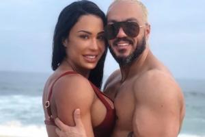 Gracyanne Barbosa e Belo voltaram a causar (Foto: Reprodução/Instagram)