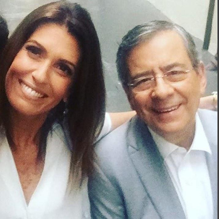 Janine Borba e Paulo Henrique Amorim brigaram no passado (Foto: Reprodução/Instagram)
