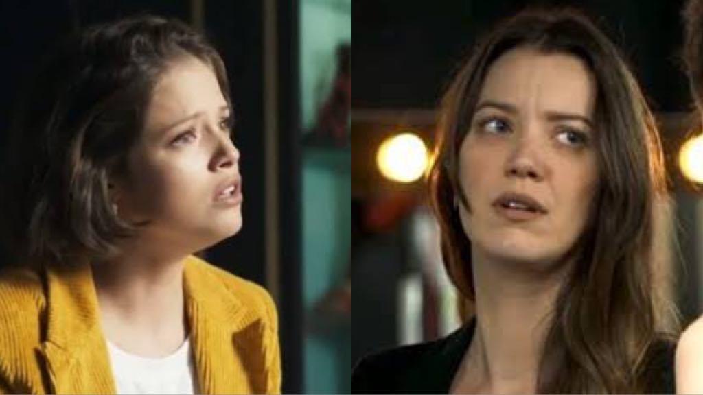 Fabiana flagrará Jô matando Jardel em metrô e passará chantagear a filha de Maria da Paz em A Dona do Pedaço (Montagem: TV Foco)