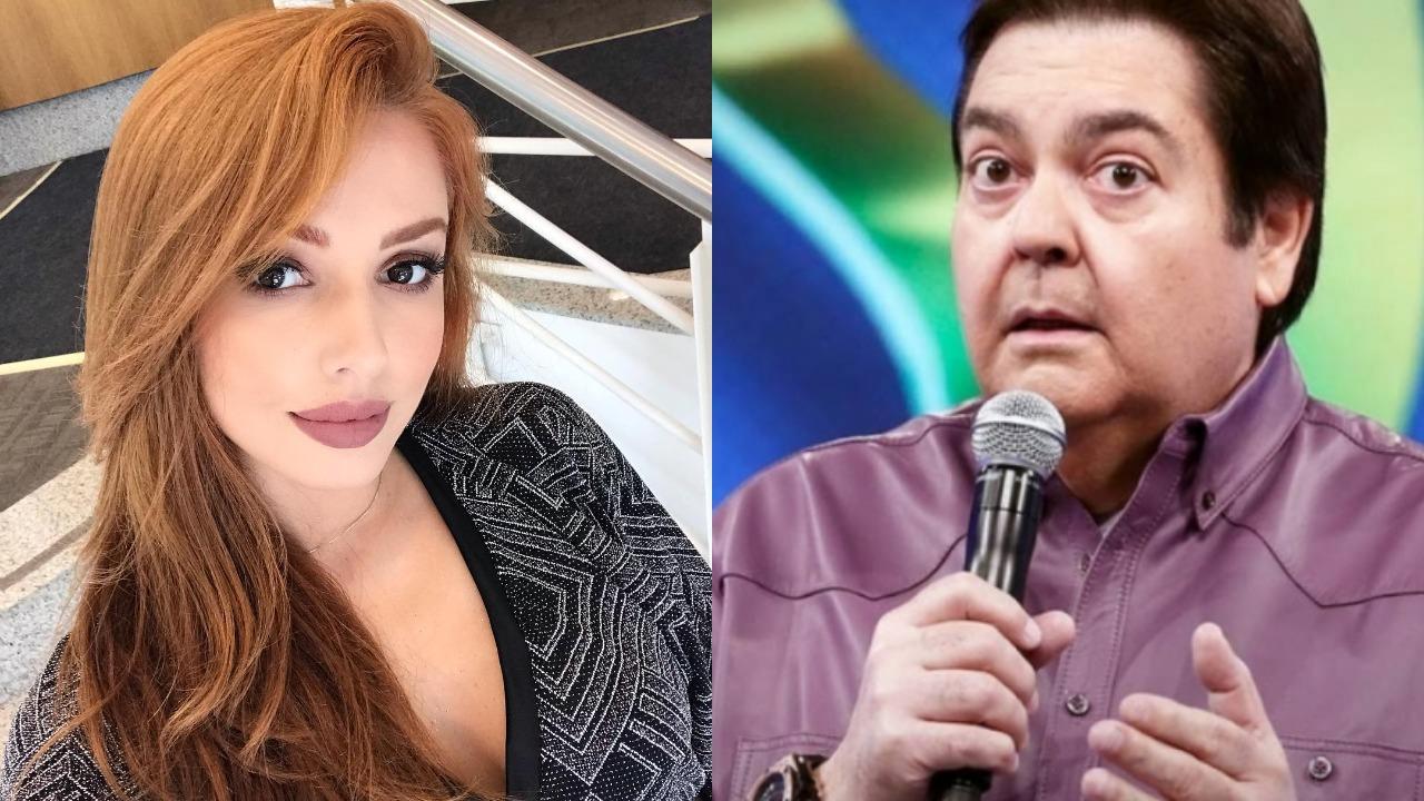 Larissa Parison e Faustão (Foto: Reprodução/Instagram/TV Globo/Montagem TV Foco)