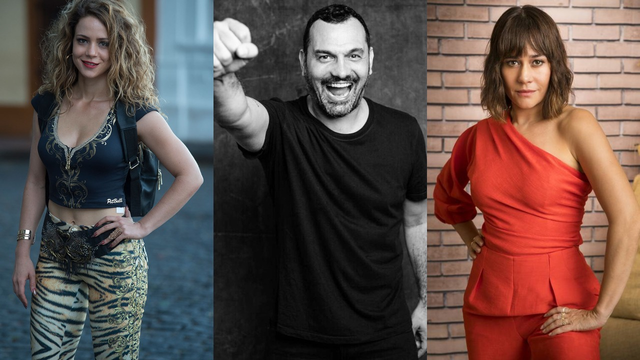 Leandra Leal, Alê Youssef e Alessandra Negrini têm envolvimento intrigante (Foto: Divulgação/Montagem TV Foco)