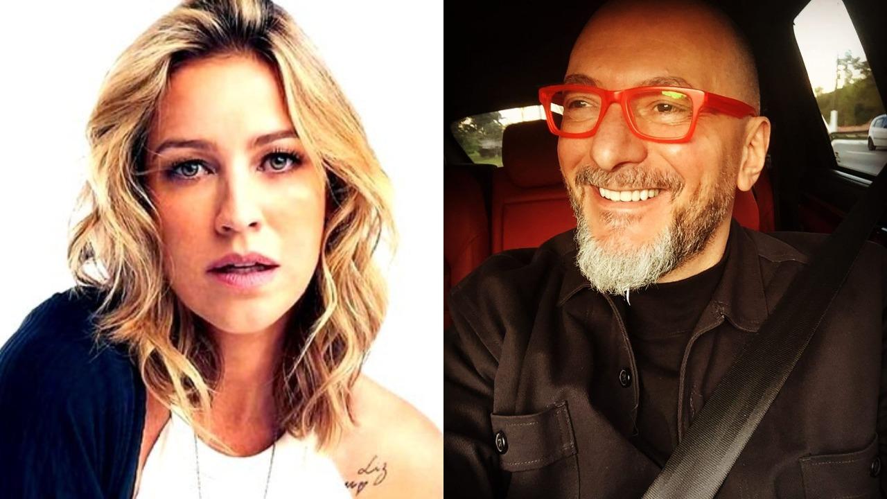 Luana Piovani e Britto Jr. brigaram feio nas redes sociais (Foto: Reprodução/Instagram/Montagem TV Foco)
