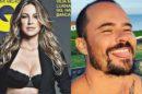 Luana Piovani encontra o ex, Paulo Vilhena em Portugal (Montagem: TV Foco)