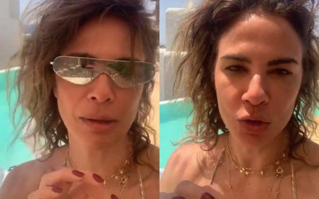 Apresentadora Luciana Gimenez desmente que rapaz em vídeo é seu namorado (Foto: Montagem/Instagram)