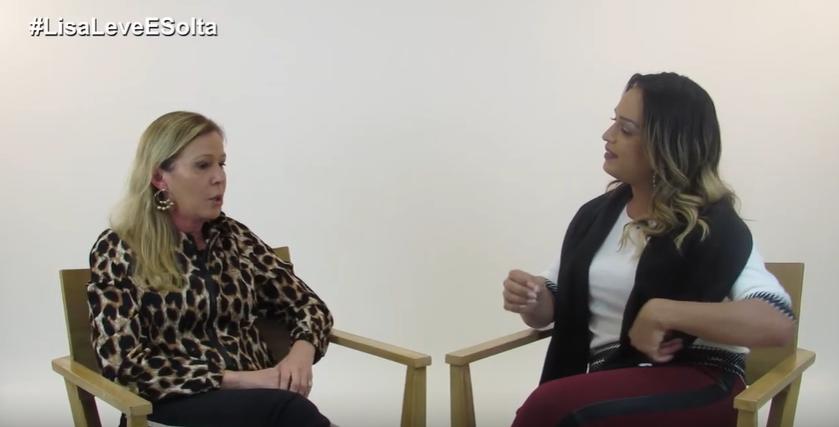 Maisa Alves e Lisa Gomes (Foto: Reprodução/YouTube)