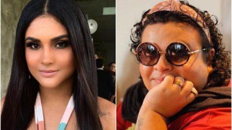 A digital influencer e ex-mulher de Wesley Safadão, Mileide Mihaile perde processo para blogueira famosa Rainha Matos (Foto: Montagem)