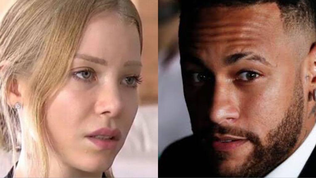 Najila Trindade e Neymar continuam em alta por conta da polêmica de estupro (Montagem: TV Foco)
