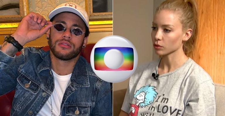 """Neymar e Najila Trindade tiveram detalhes revelados pelo """"Jornal Nacional"""", da TV Globo (Foto: Reprodução/ Montagem TV Foco)"""