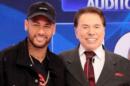 Neymar participou do Programa Silvio Santos no SBT (Foto: Reprodução/Instagram)