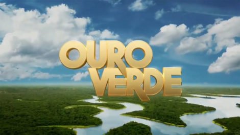Logo da novela Ouro Verde exibida pela Band (Foto: Divulgação/Band)