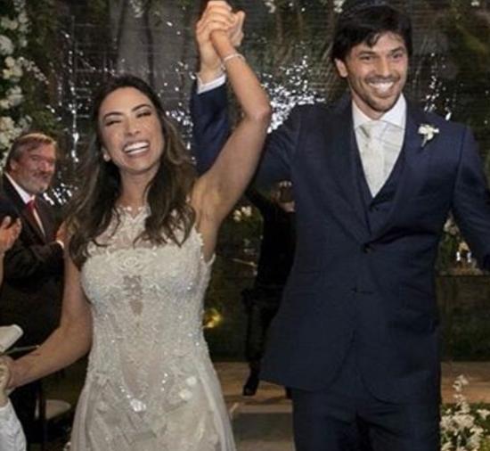Patrícia Abravanel e Fábio Faria (Foto: Reprodução/Instagram)