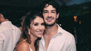 Rebeca Abravanel e Alexandre Pato (Foto: Reprodução)