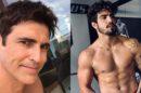 Reynaldo Gianechini e Caio Castro se divertem nos bastidores de A Dona do Pedaço (imagem: Instagram)
