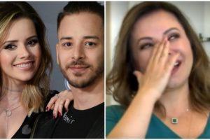 A mãe da dupla Sandy & Junior, a empresária Noely surpreendeu o público ao revelar segredo inusitado dos filhos (Foto: Montagem TV Foco)