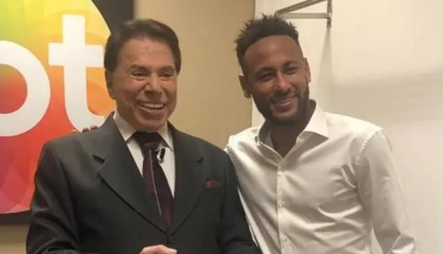 Silvio Santos e Neymar (Foto: Reprodução/Instagram)