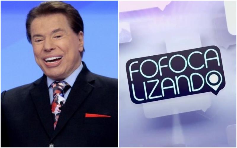 Silvio Santos decreta o fim do Fofocalizando do SBT e o apresentador Leo Dias entra em choque (Foto: Montagem TV Foco)