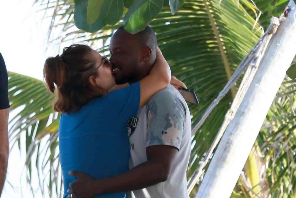 Thiaguinho e Fernanda Souza (Foto: Dilson Silva/AgNews)