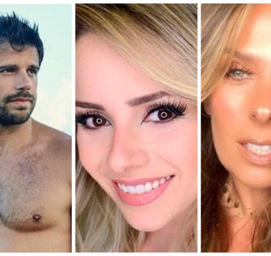 Duda Nagle, Sandy e Adriane Galisteu já falaram abertamente sobre sexo anal (Reprodução)