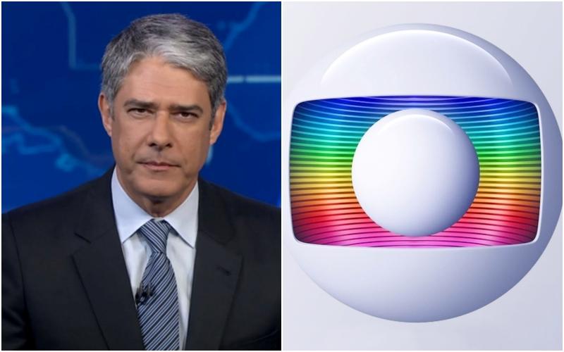O apresentador do Jornal Nacional da Globo, William Bonner toma medida drástica após polêmicas (Foto: Montagem TV Foco)