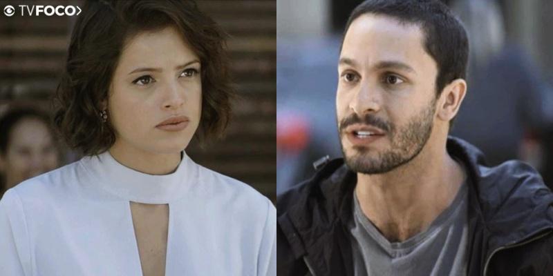 Téo (Rainer Cadete) vai virar aliado de Josiane (Agatha Moreira) em A Dona do Pedaço (Foto: Reprodução/Globo)