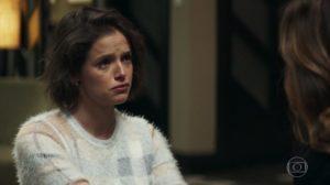 Josiane (Agatha Moreira) tem mistério intrigante com Maria da Paz em A Dona do Pedaço, novela das nove da Globo (Foto: Reprodução/Globo)