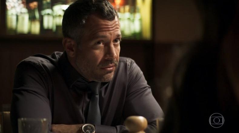 Agno (Malvino Salvador) ficará incrédulo com golpe de Fabiana (Nathalia Dill) em A Dona do Pedaço na Globo (Foto: Reprodução/Globo)