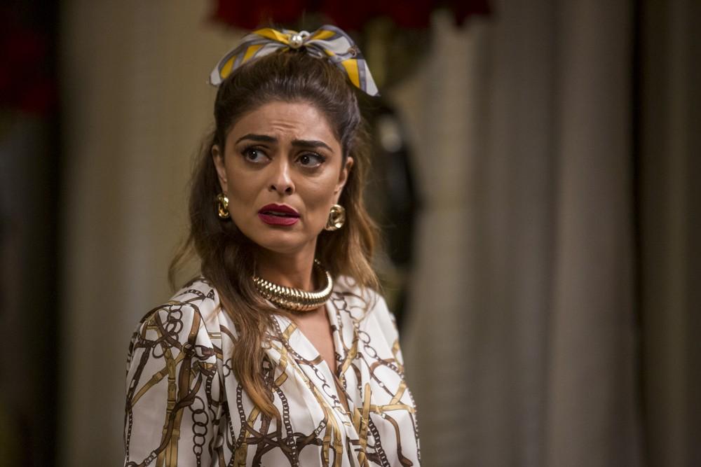 Maria da Paz (Juliana Paes) é protagonista de A Dona do Pedaço da Globo