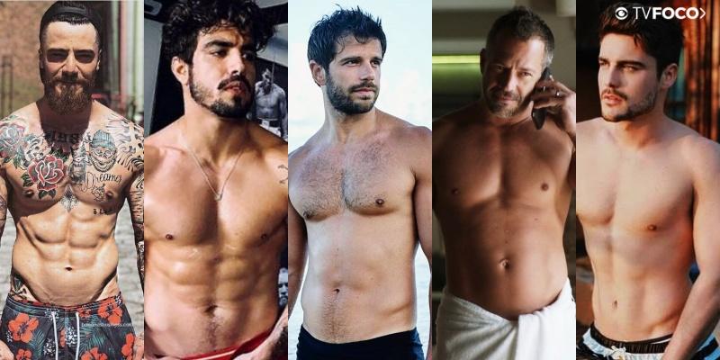 Felipe Titto, Caio Castro, Duda Nagle, Malvino Salvador, Guilherme Leicam são atores de A Dona do Pedaço da Globo