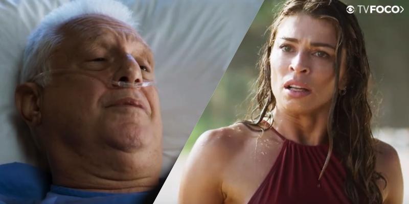 Alberto e Paloma terão encontro arrebatador em Bom Sucesso da Globo (Foto: Montagem/TV Foco)