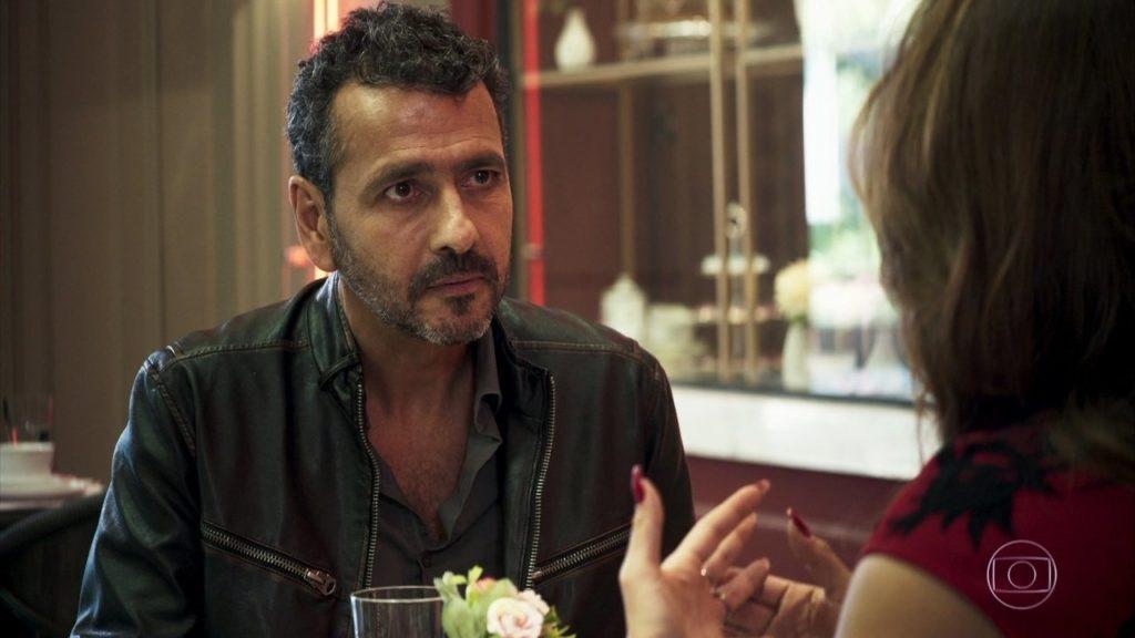 Marcos Palmeira interpreta o mocinho Amadeu de A Dona do Pedaço da Globo