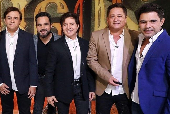 Zezé Di Camargo, Luciano, Chitãozinho, Xoxoró, Leonardo são os Amigos