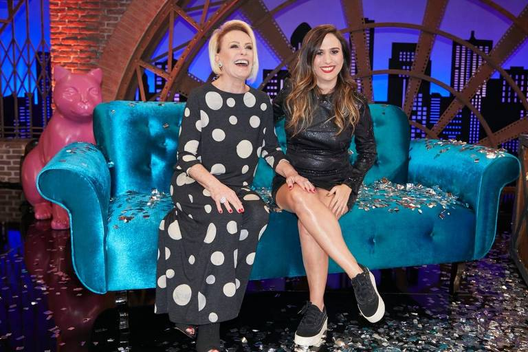 Ana Maria Braga fez revelações inéditas no Lady Night de Tatá Werneck no Multishow (Foto divulgação)