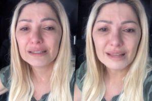 Antonia Fontenelle chorou e falou sobre ganho na justiça em relação à herança do ator Marcos Paulo.