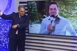 Apresentador do Alterosa Alerta, filiada ao SBT, faz piada racista e jornalista decide se demitir da emissora (Imagem: Reprodução)