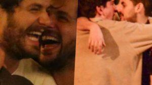 Atores da Globo são pegos beijando outros rapazes (Foto reprodução)