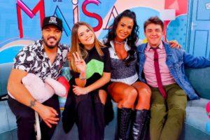 Gracyanne Barbosa e Belo estarão no Programa da Maísa do SBT (Foto: Reprodução)