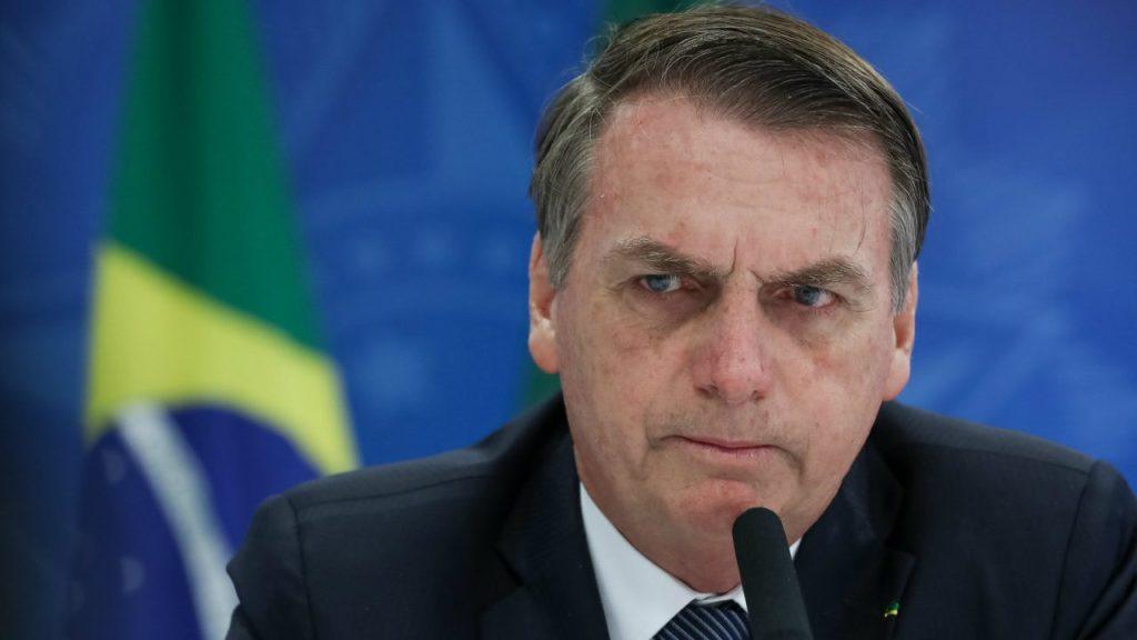 Político Jair Bolsonaro, presidente do Brasil, está sendo alvo de obra satânica (Foto: Divulgação)