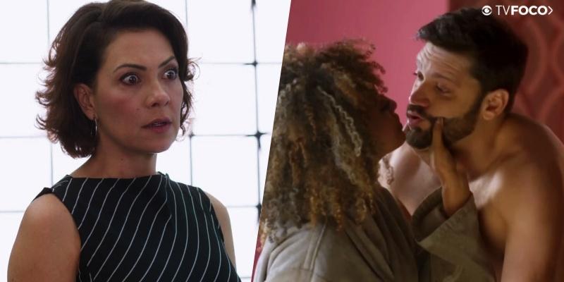 Nana fica surpresa ao pegar o marido no pulo em Bom Sucesso da Globo