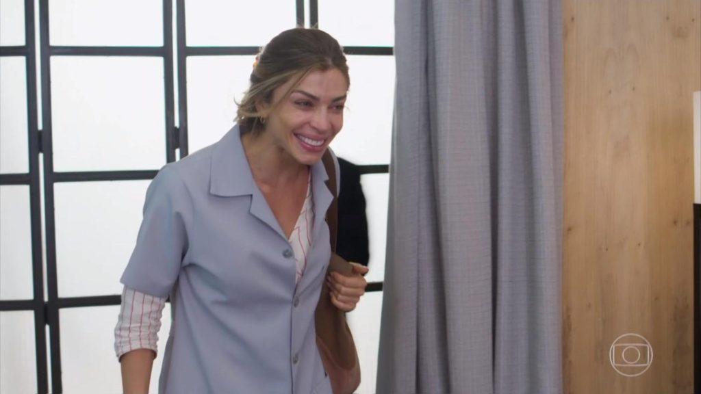 Grazi deu show no segundo capítulo da novela Bom Sucesso, da Globo. (Foto: Reprodução)