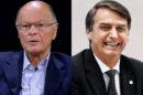 A Record, de Edir Macedo, fez apologia a algo repudiado por Bolsonaro (Foto: Montagem)