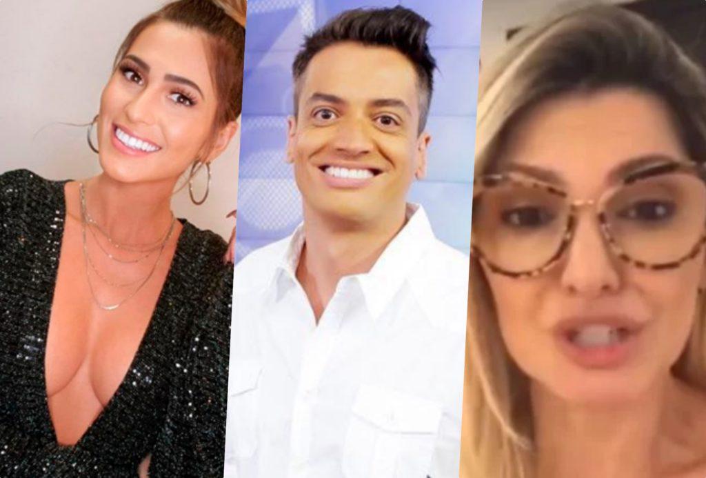 No Programa Silvio Santos do SBT, o apresentador fez Lívia Andrade contar o que realmente motivou o fim da amizade com Leo Dias e Patrícia se envolveu